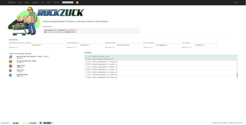 Mit RuckZuck Sofware paketieren