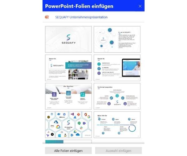 Microsoft Whiteboard - Powerpoint