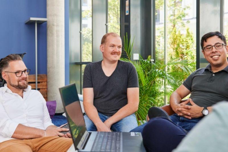 Markus Prahl, Matthias Meyer & Seiji Kuwahara - Gründer der Sequafy GmbH