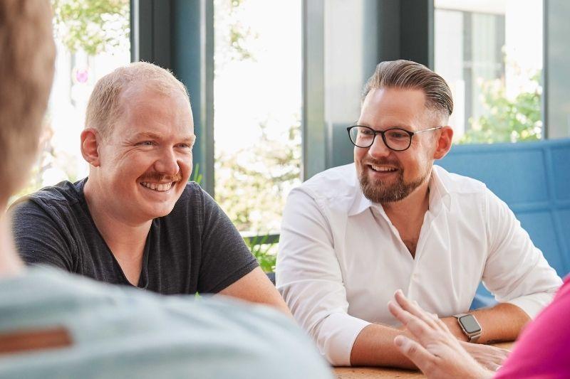 Matthias Meyer & Markus Prahl Gründer der Sequafy GmbH