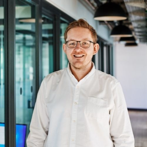 Ruben Peters Salesmanager bei Sequafy